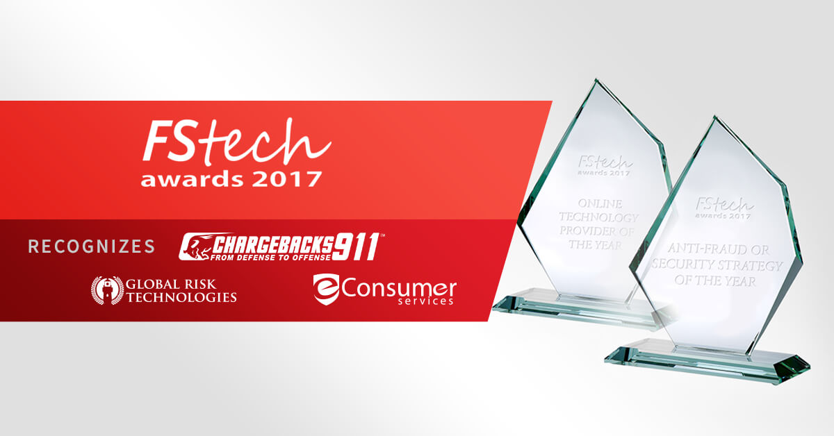 Chargebacks911 S Parent Company Recognized With Fstech
