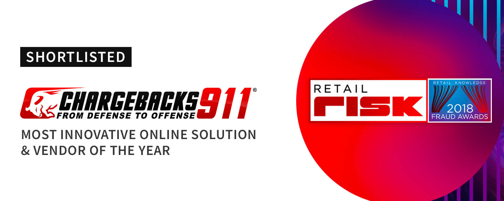 "Chargebacks911® Selected for Fraud Awards' ""Vendor of the Year"""