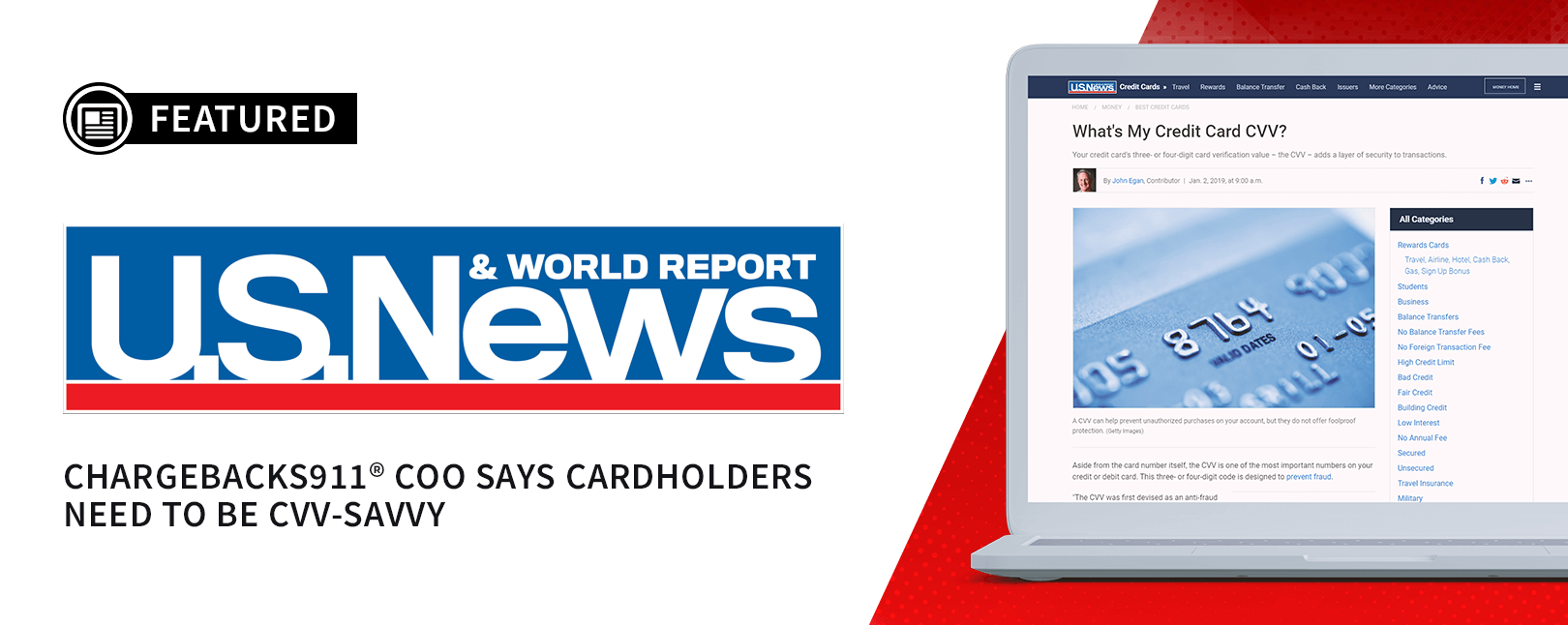 US News and World Report Feature